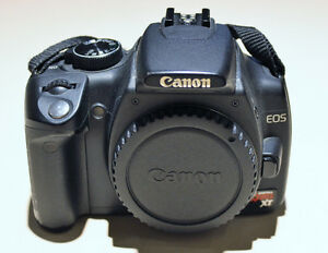 CANON EOS REBEL XT CAMERA (BODY ONLY)