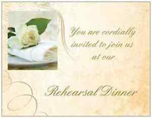 20 wedding rehearsal dinner invitations simple elegant for Simple elegant wedding invitations ireland