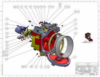 ***Engineering drawings & Part/Assembly designing***
