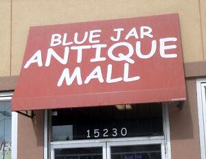 Antique Prosthetic Leg Weird Science - BLUE JAR Antique Mall Edmonton Edmonton Area image 2