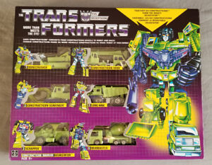 Transformers Constructicons Devastator Limited Edition Set MISB!