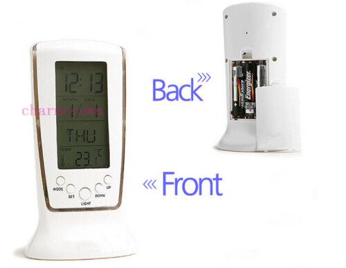 neu led digital wecker alarm tischuhr reisewecker mit. Black Bedroom Furniture Sets. Home Design Ideas
