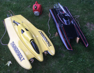 2 x RC Gas Boats for Sale - Each or both