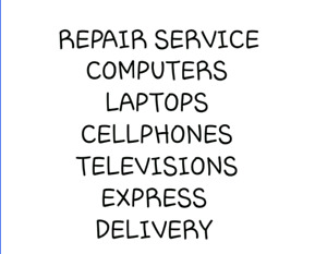 Cellphone and ipad and tablet screen repair and LCD TV service a