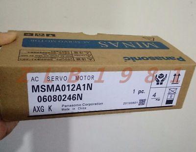 One New- Panasonic Servo Motor Msma012a1n