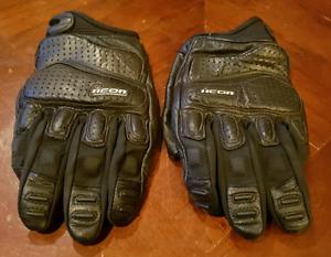 ICON Superduty Motorbike Gloves Large