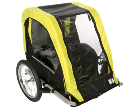 HALFORDS DOUBLE BIKE TRAILER