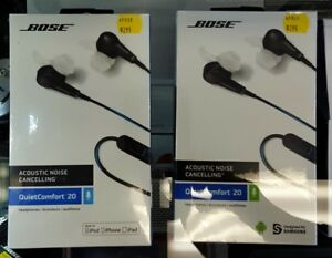 Bose QuietComfort 20 Earbud / Headphones (Brand New)