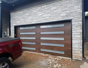 Garage doors complete and installed