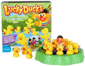 Lucky Ducks Game-Sesame Street Edition-new in box.