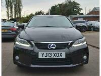 2013 Lexus CT 1.8 200H ADVANCE 5d 136 BHP Auto Hatchback Automatic