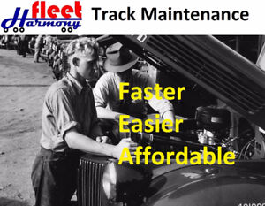 Track Equipment Maintenance Faster and Easier