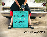 Calgary's HOTTEST True Vintage Market!Date: October 26th & 27th