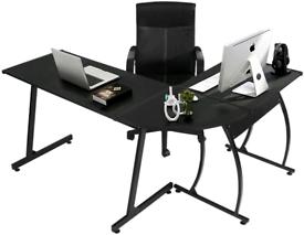 Black Pc desk