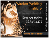 Windsor Welding Institute. Professional skilled trades training