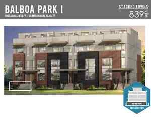 2BR+Den Downsview Park Freehold Townhouse For Assignment