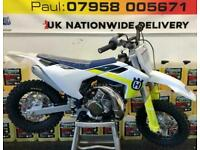 2021 HUSQVARNA TC 50 MINI....0.1 HOURS... ONLY STARTED...£3495...MOTO X CHANGE