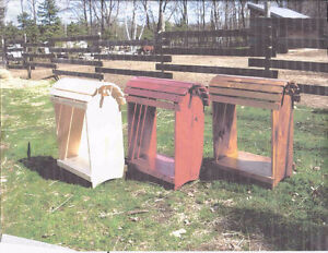 Original Barrel Top Saddle Stands.
