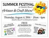 Summer Festival Artisan & Craft Show