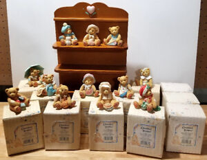 RETIRED Enesco 1993 Cherished Teddies Set of 12 Month Bears and