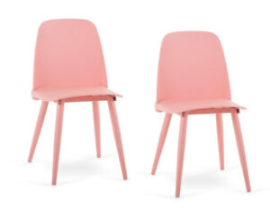 Pair of Pink Structube Chairs