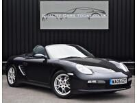 Porsche Boxster ( 987 ) 2.7 Manual *Basalt Black + Lady Owner Last 5 years*