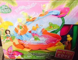 Clochette Tinker Bell Jouet de bain bath time.+ Bonus Livres