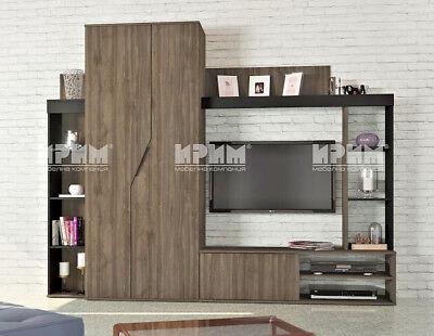 Parete attrezzata moderna mobile soggiorno modello City 6023 design raffinato