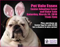 Second Chance Animal Rescue's Easter Adoption Event