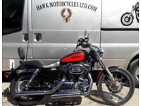 IMMACULATE 2009 HARLEY DAVIDSON XL1200C SPORTSTER, 8454 MILES, VANCE & HINES