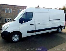 2011 61 VAUXHALL MOVANO LWB, ## BIG 125BHP ##, FLEET OWNED, 6 SPEED, AIR CON