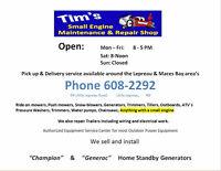 Tim's Small Engine Shop