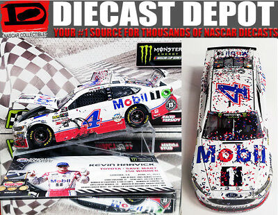 KEVIN HARVICK 2017 SONOMA WIN RACED VERSION MOBIL ONE 1/24 ACTION