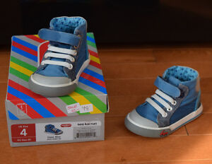 See Kai Run Infant High Top Sneakers Infant Size 4