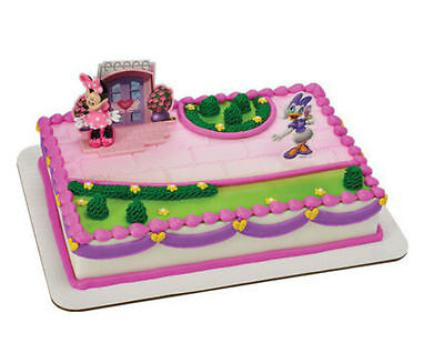 Minnie Mouse Daisy Happy Helpers cake decoration Decoset cake topper set  (Minnie Mouse Cake Decoration)