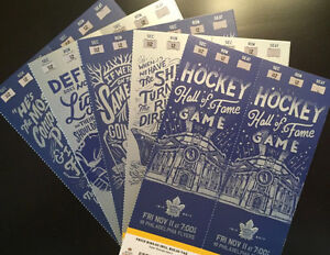 Leafs End Zone Golds: 5-Game Packages