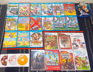 WII & Wii U Games ( Pick Up Only & Price in Description )