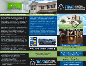 Fredericton Home Inspector   TICAD Inspection Services Ltd.
