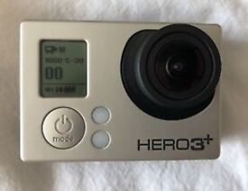 Go Pro Hero 3 + Black edition like new (used once) wifi remote included & accessories