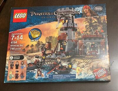 LEGO Pirates of the Caribbean on Stranger Tides WHITECAP BAY Set 4194 NEW Sealed