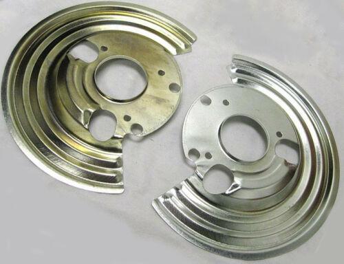 1964-1972 Mopar B Body Backing Plates Set Dust Shields Disc Brake Pair SALE
