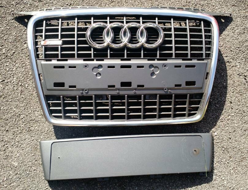 audi a3 8p 2006 s line chrome grill in bishops stortford. Black Bedroom Furniture Sets. Home Design Ideas