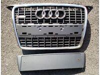 Audi A3 8p 2006 S-line chrome grill