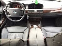 LHD LEFT HAND DRIVE BMW 730D HIGH EXECUTIVE GREY AC FULL GREY LEATHER XENON MEMORY LOADED