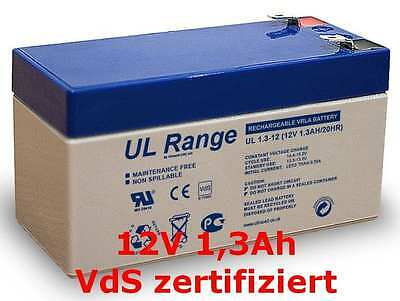 Sun Battery SB12-1.2 Akku Ersatzakku  Batterie 12V 1,3Ah 1,2 Ah  ()
