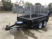 8x5 Heavy Duty Tandem Cage Trailer - 3ft/ 900mm Galv Cage Thomastown Whittlesea Area Preview