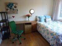 Nice furnished double, close to tram stop, bill included