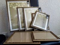 Large Selection of various sized Photo Frames