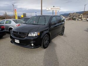 2014 Dodge Grand Caravan Black Top