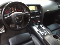 LHD LEFT HAND DRIVE AUDI Q7 3.0 TDI QUATTRO S-LINE 7 SEATS AUTOMATIC 2010 FACELIFTED GREY IMMACULATE